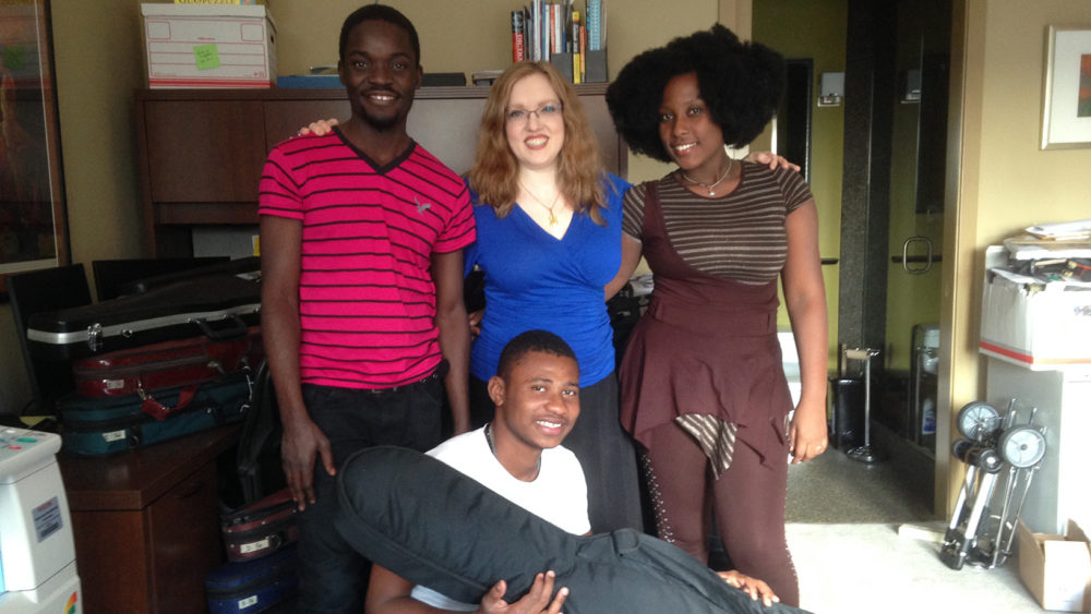 Rachel Barton Pine and Blume Haiti Teachers