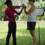 8 - a violin lesson