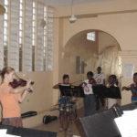 9 - a violin group lesson