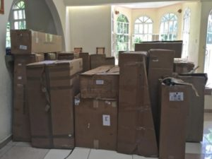Supplies for Haiti