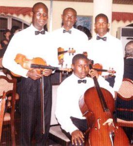 the Golden String Quartet