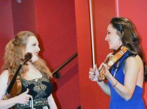 Rachel Barton Pine with Karla Donehew-Perez